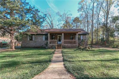 Mobile County Single Family Home For Sale: 6681 Old Pascagoula Road
