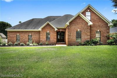Mobile Single Family Home For Sale: 8545 Gatewood Drive N