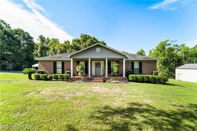 Mobile County Single Family Home For Sale: 3081 Ricky Lane