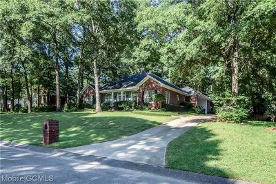 Mobile County Single Family Home For Sale: 9807 Potomac Ridge Drive