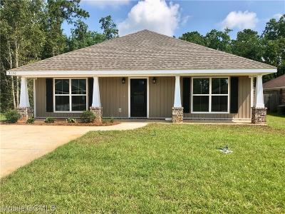 Mobile County Single Family Home For Sale: 9150 Dawes Oak Drive