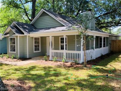 Mobile County Single Family Home For Sale: 814 McNeil Avenue