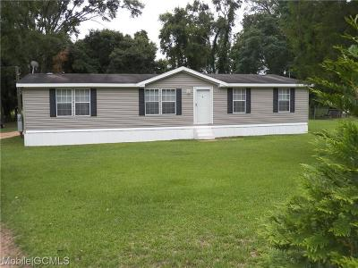 Mobile County Single Family Home For Sale: 9249 Butternut Drive