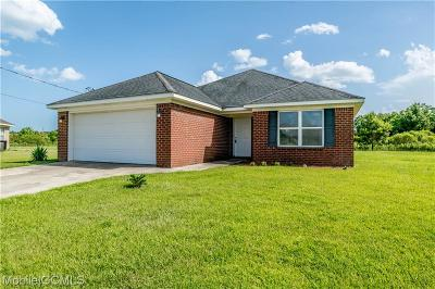 Mobile County Single Family Home For Sale: 7650 Kelcey Court