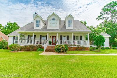Baldwin County Single Family Home For Sale: 101 Raphael Semmes Drive