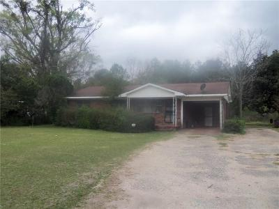 Chunchula Single Family Home For Sale: 10975 Highway 45