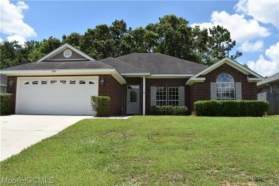 Single Family Home For Sale: 1824 Harrington Way