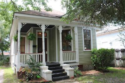 Mobile AL Single Family Home For Sale: $144,900