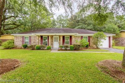 Mobile Single Family Home For Sale: 5850 Woodgate Road