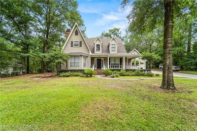 Mobile County Single Family Home For Sale: 4750 Pine Avenue