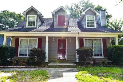 Mobile County Single Family Home For Sale: 3149 Wellborne Drive W