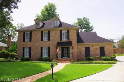 Mobile Single Family Home For Sale: 5865 Falls Church Road E