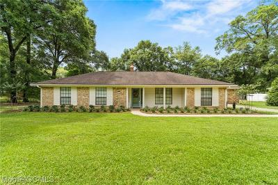 Creola Single Family Home For Sale: 516 Theophilus Road