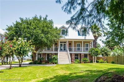 Coden Single Family Home For Sale: 15261 Dauphin Island Parkway