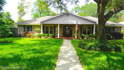 Mobile Single Family Home For Sale: 1205 Westbury Drive