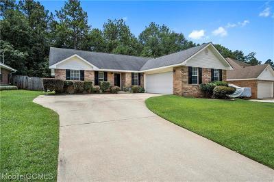 Mobile Single Family Home For Sale: 5869 Spyglass Drive