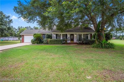Grand Bay Single Family Home For Sale: 15115 Stokes Road
