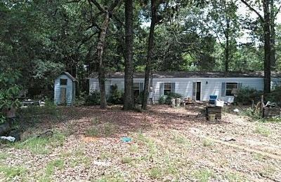 Chunchula Single Family Home For Sale: 10040 Gulfcrest Road