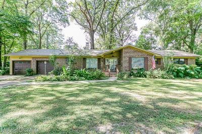 Mobile Single Family Home For Sale: 5101 Perin Road