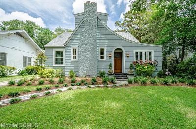 Mobile County Single Family Home For Sale: 65 Glenwood Street