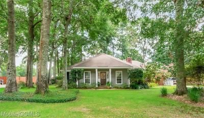 Mobile Single Family Home For Sale: 3675 Arlington Oaks Drive
