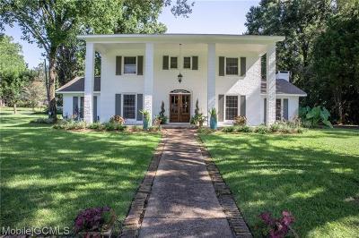 Mobile County Single Family Home For Sale: 3924 Pembrocke Avenue