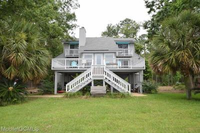 Coden Single Family Home For Sale: 12435 Dauphin Island Parkway