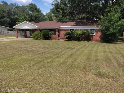 Mobile Single Family Home For Sale: 4483 Rossmere Drive