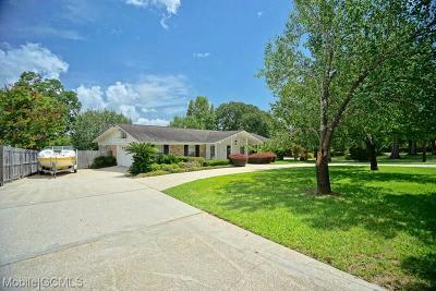 Mobile County Single Family Home For Sale: 4318 Cypress Shores Drive N