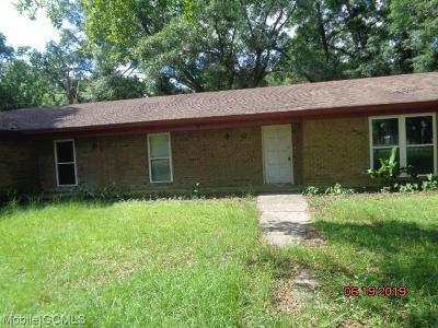 Satsuma Single Family Home For Sale: 72 Bayou Avenue E
