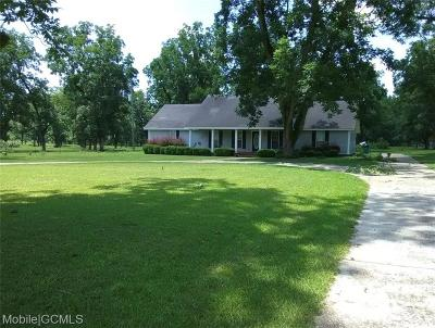 Citronelle Single Family Home For Sale: 8900 6th Street S