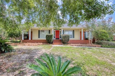 Mobile Single Family Home For Sale: 7580 Canvasback Drive
