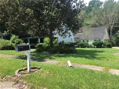 Mobile Single Family Home For Sale: 5729 Carrick Road