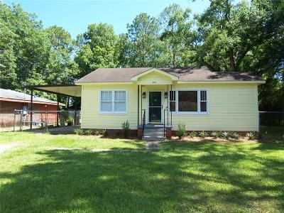 Mobile Single Family Home For Sale: 1911 Rosedale Road