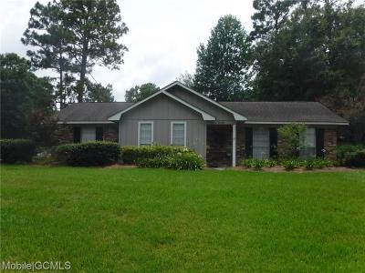 Mobile Single Family Home For Sale: 8098 Country Drive