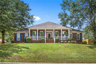 Mobile Single Family Home For Sale: 1365 Cameron Drive