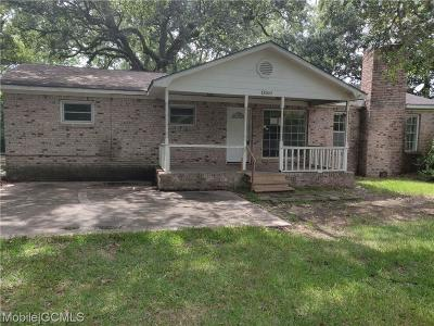 Bayou La Batre Single Family Home For Sale: 13260 Center Avenue
