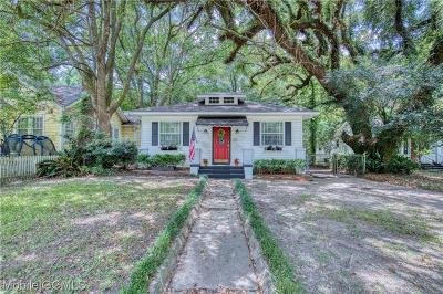 Mobile Single Family Home For Sale: 118 Mohawk Street