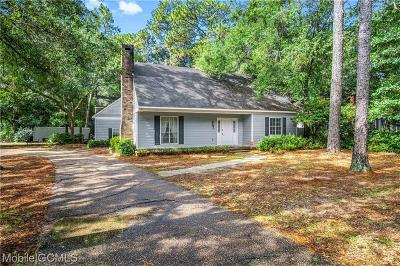 Mobile Single Family Home For Sale: 1101 Forest Hill Drive