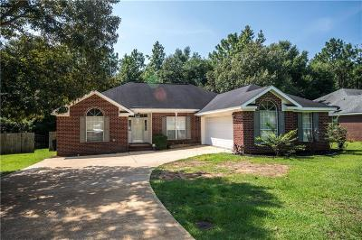 Mobile Single Family Home For Sale: 9721 Concord Place