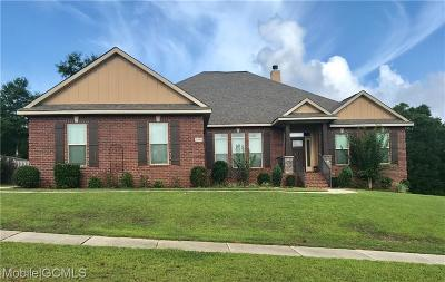 Mobile County Single Family Home For Sale: 10069 Highfield Way