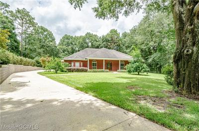Mobile County Single Family Home For Sale: 2610 Knollwood Drive