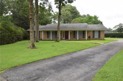 Mobile Single Family Home For Sale: 2209 Fairwood Court
