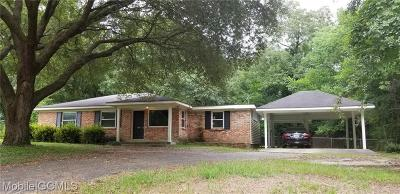 Mobile Single Family Home For Sale: 411 Ridgecrest Court