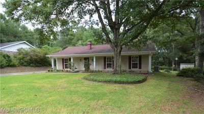 Mobile Single Family Home For Sale: 5804 Hanging Moss Court