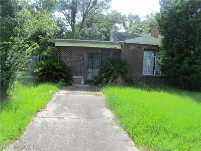 Mobile Single Family Home For Sale: 1268 Dauphin Island Parkway