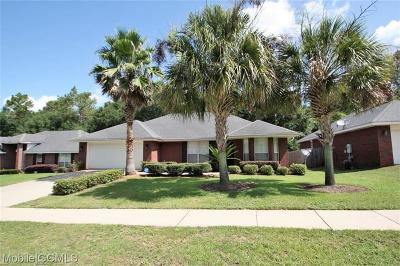 Mobile Single Family Home For Sale: 5872 Spyglass Drive