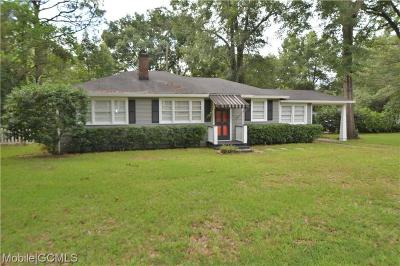 Mobile Single Family Home For Sale: 339 Azalea Circle W