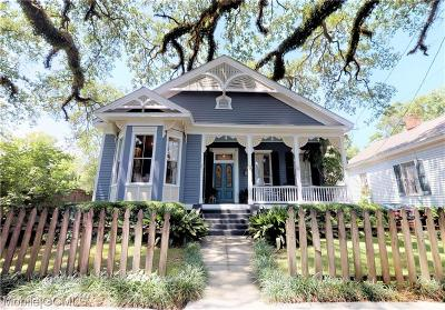 Mobile Single Family Home For Sale: 908 Augusta Street