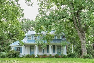 Mobile Single Family Home For Sale: 3154 Cottage Hill Road